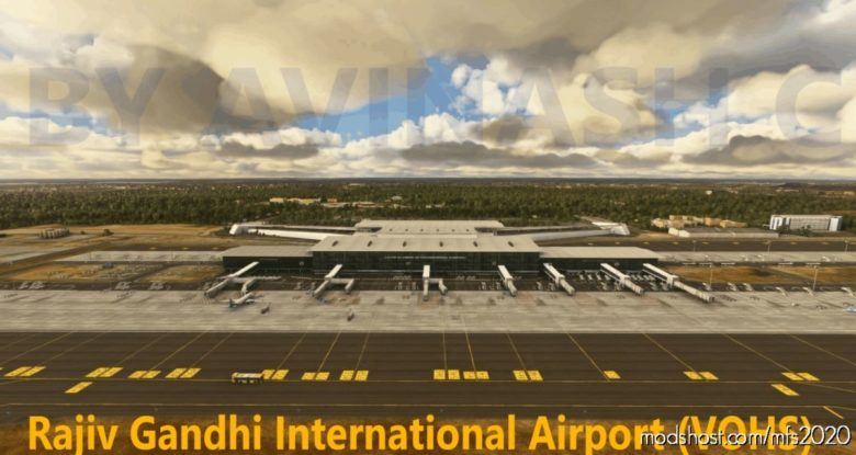 Vohs Rajiv Gandhi International Airport for Microsoft Flight Simulator 2020