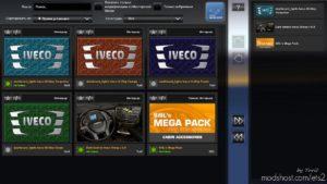 Dashboard Light Iveco Hi-Way Pack V0.9 for Euro Truck Simulator 2