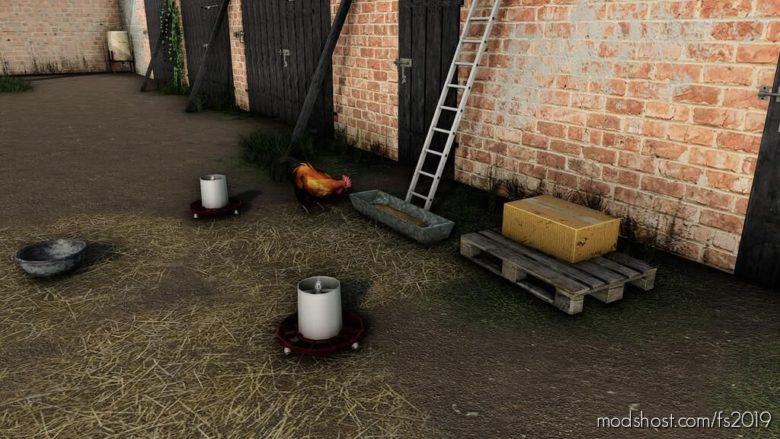 Small Polish Chicken Coop for Farming Simulator 19