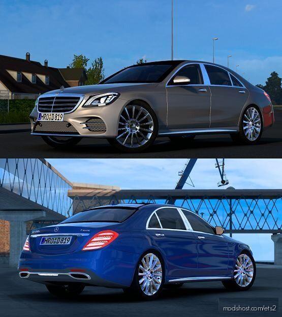 Mercedes-Benz S400D V4 [1.40] for Euro Truck Simulator 2