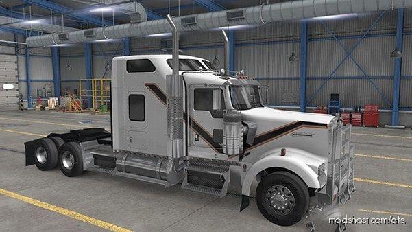 Kenworth White Skin for American Truck Simulator