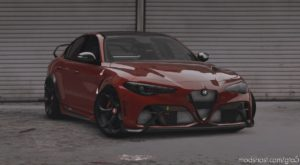 2021 Alfa Romeo Giulia Gtam for Grand Theft Auto V