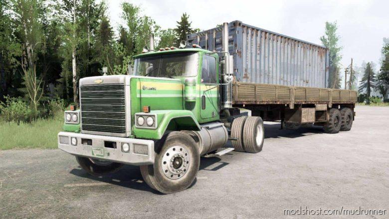 Chevrolet Bison 4×2 Truck for MudRunner