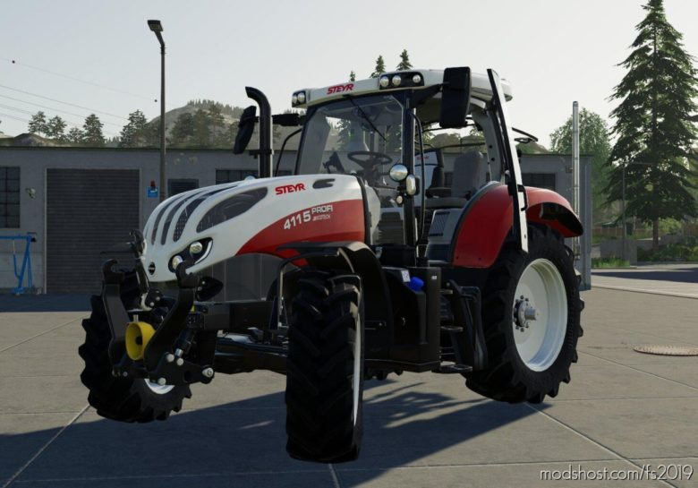 Steyr Profi CVT V1.3.1 for Farming Simulator 19