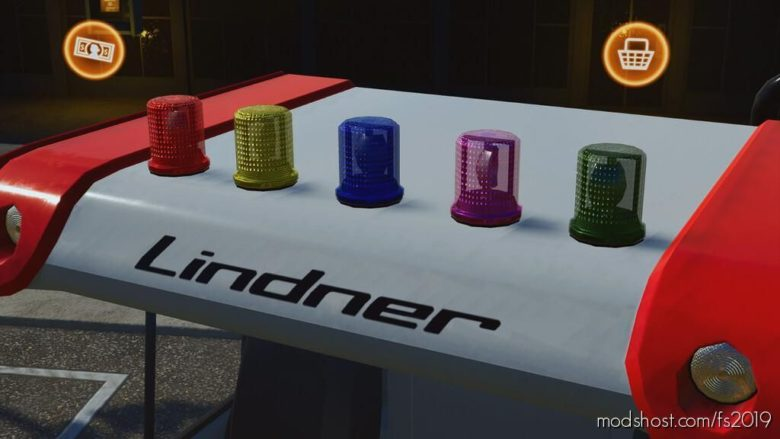 Colored Beaconlights (Prefab) for Farming Simulator 19