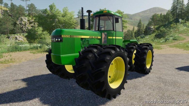John Deere 8650 for Farming Simulator 19