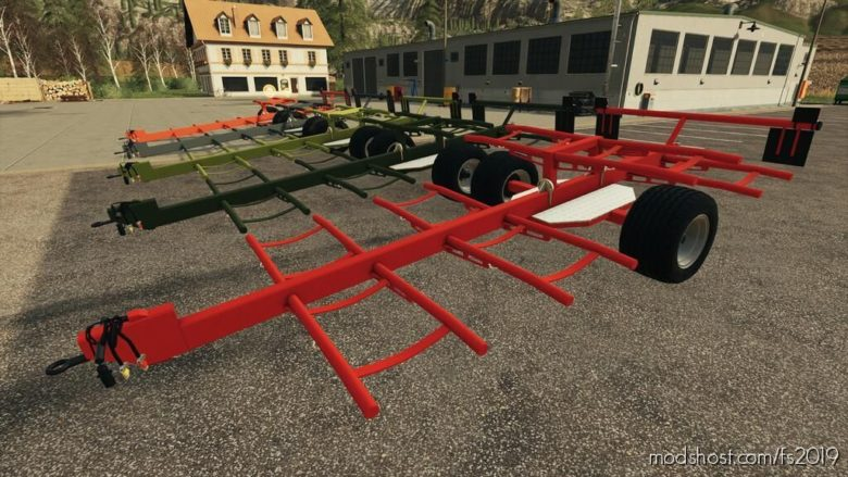 Lizard 8 Bale Trailer for Farming Simulator 19
