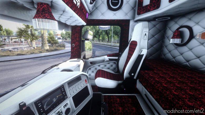 Scania RJL White Holland Interior [1.40] for Euro Truck Simulator 2