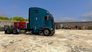 Freightliner FLB Cabover Truck [1.39] for American Truck Simulator