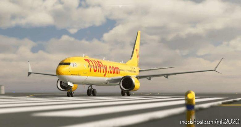 Bredok'S 737 MAX | TUI Airways (Yellow) for Microsoft Flight Simulator 2020