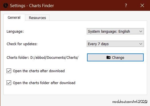 Charts Finder 2 V2.3.1 for Microsoft Flight Simulator 2020