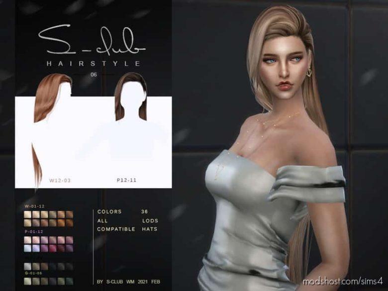 WM Hair 202106 for The Sims 4