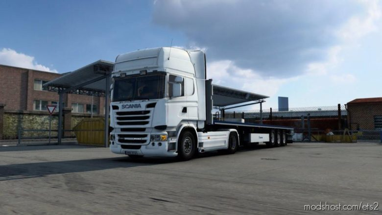 Scania DC13 Open Pipe Sound Mod for Euro Truck Simulator 2