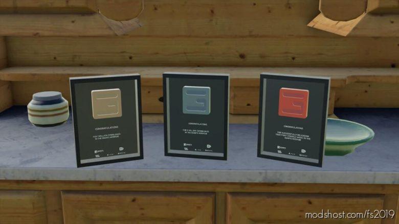 Giants Software Award for Farming Simulator 19
