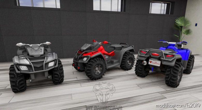 ATV 650X-MR for Farming Simulator 19