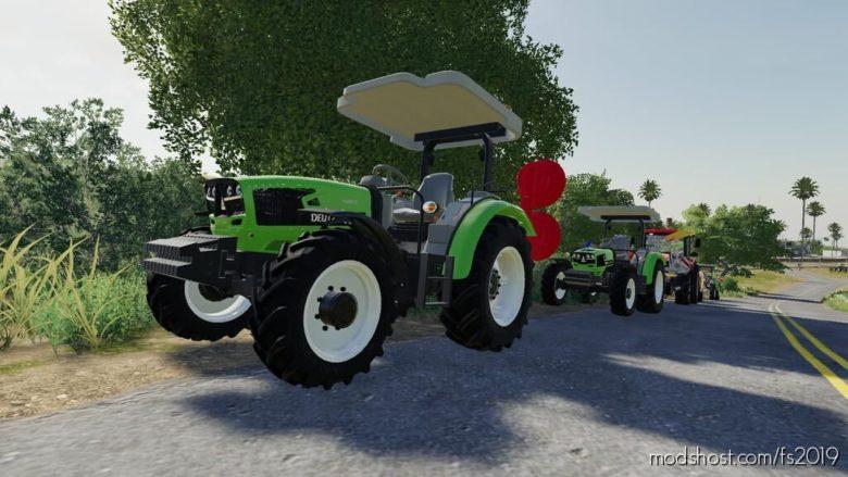 Deutz-Fahr 4080 for Farming Simulator 19