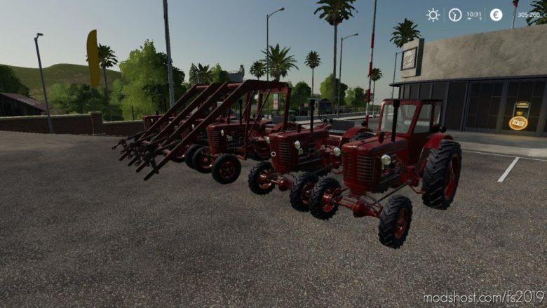 Mtz-5L + MTZ-7 V1.1 for Farming Simulator 19