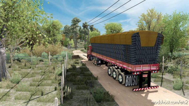 Realistic Brazil Map Mod (Mapa Oeste Baiano) [1.40] for Euro Truck Simulator 2