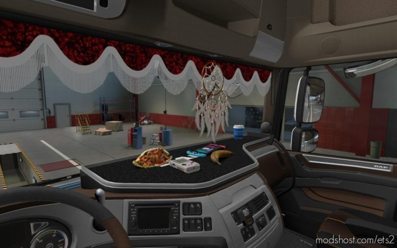 Wollis Interior Addon V1.1 [1.39 – 1.40] for Euro Truck Simulator 2