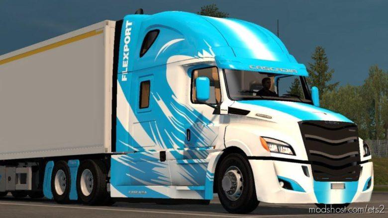 Freightliner Cascadia 2018 [1.39] for Euro Truck Simulator 2