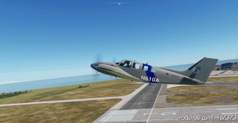 Baron G58 Uscbp (Fictional) for Microsoft Flight Simulator 2020