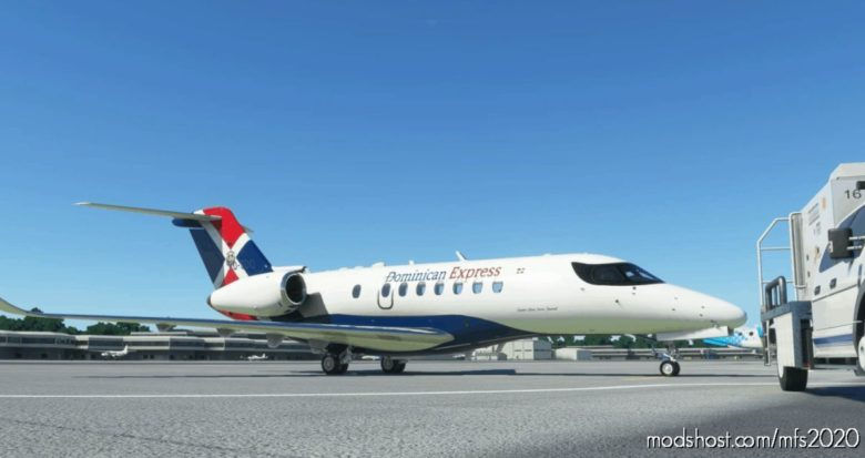 Dominican Express | Textron Aviation | 4K Texture V4.0 for Microsoft Flight Simulator 2020