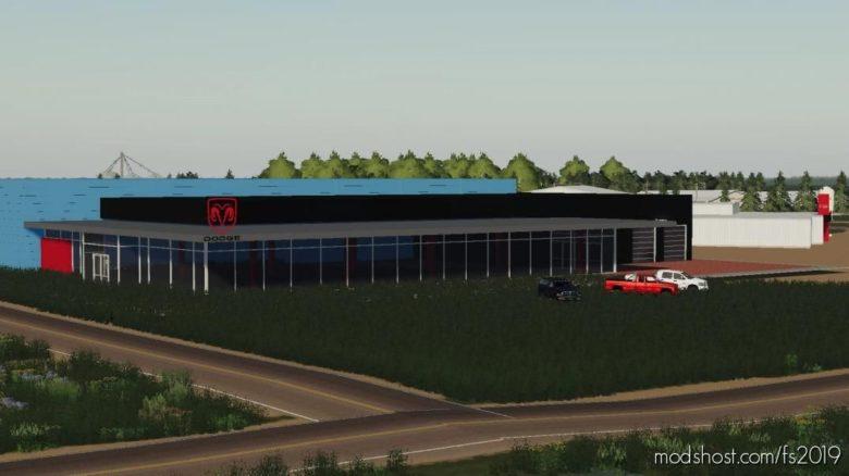Dodge Dealership Beta for Farming Simulator 19