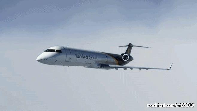 CRJ Cargo UPS for Microsoft Flight Simulator 2020