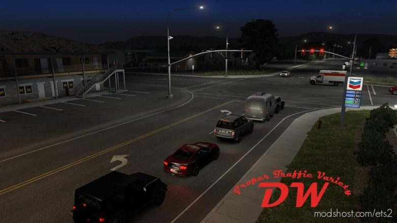 Proper Traffic Variety 2/22/21 [1.40] for Euro Truck Simulator 2