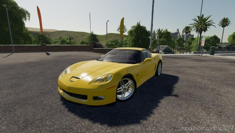 2006 Lowered Chevy Corvette for Farming Simulator 19
