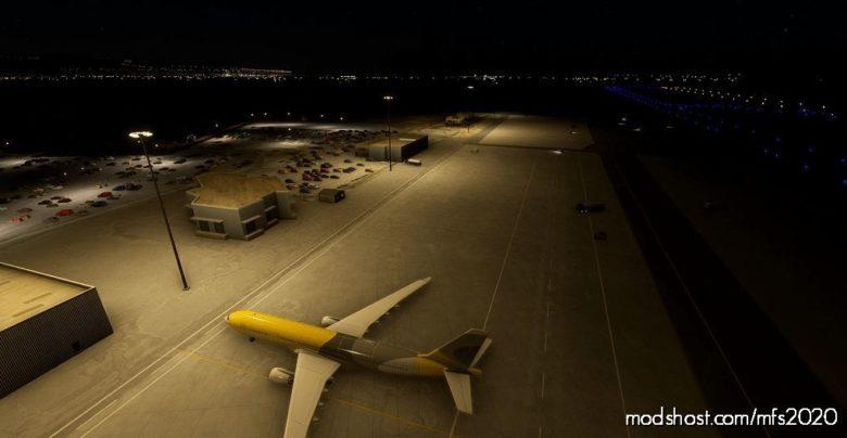 Liea – Alghero Airport, Italy – Basic Enhancement (NOW With Better Lighting!) V1.01 for Microsoft Flight Simulator 2020