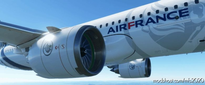 A320Neo AIR France Fictitious Concept Livery 01 for Microsoft Flight Simulator 2020