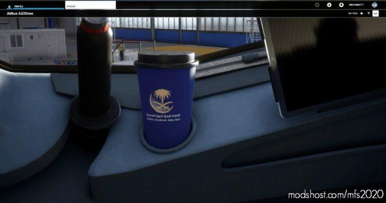 Saudi Arabian Airlines Cups V1.1 for Microsoft Flight Simulator 2020