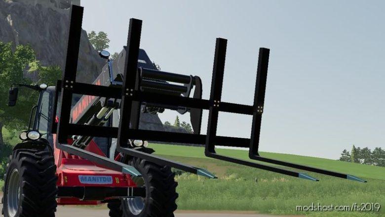 Large 3 Point Pallet Fork V0.5 for Farming Simulator 19
