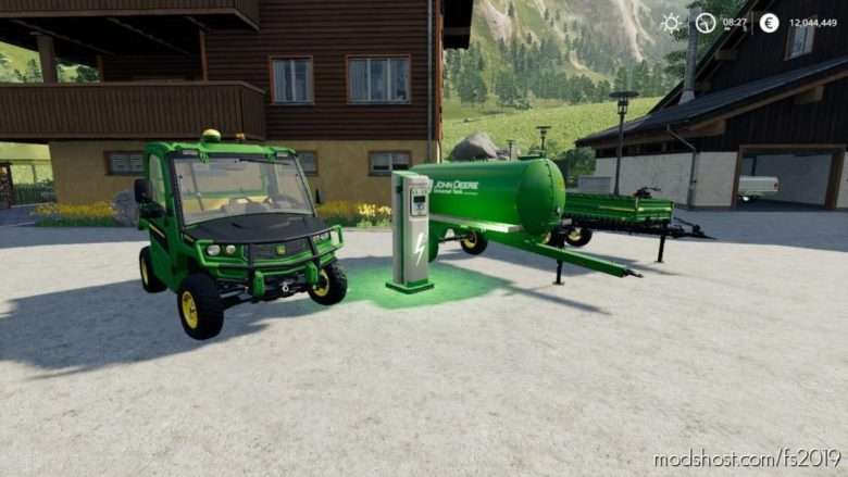 John Deere Gator Electriqe Pack for Farming Simulator 19