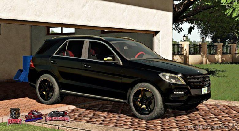 Mercedes-Benz ML 350 for Farming Simulator 19