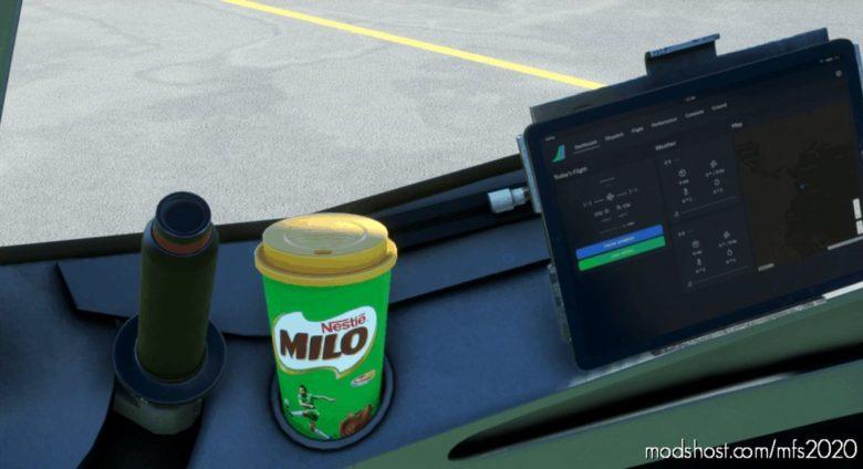 Milo Coffee CUP for Microsoft Flight Simulator 2020