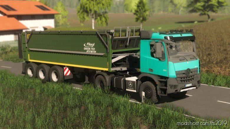 Fliegl Green TEC 381 for Farming Simulator 19