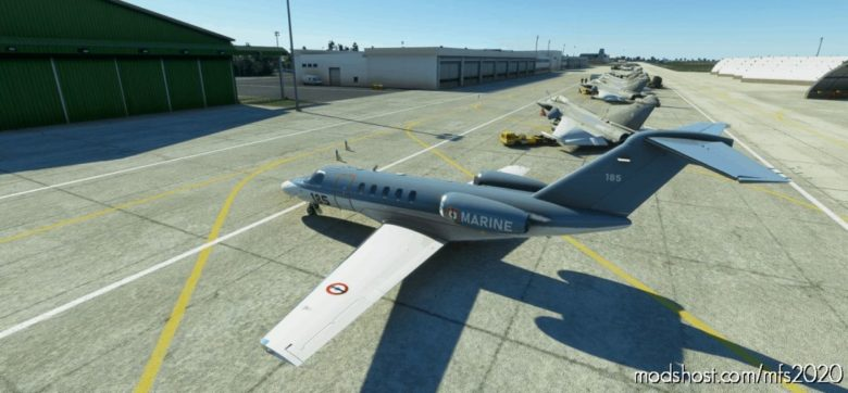 CJ4 Escadrille 57S French Navy/Army V1.1 for Microsoft Flight Simulator 2020
