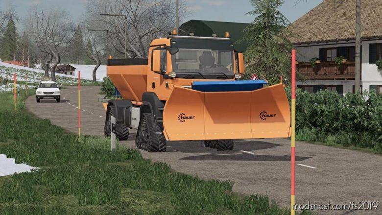 Placeable Snow Pole for Farming Simulator 19