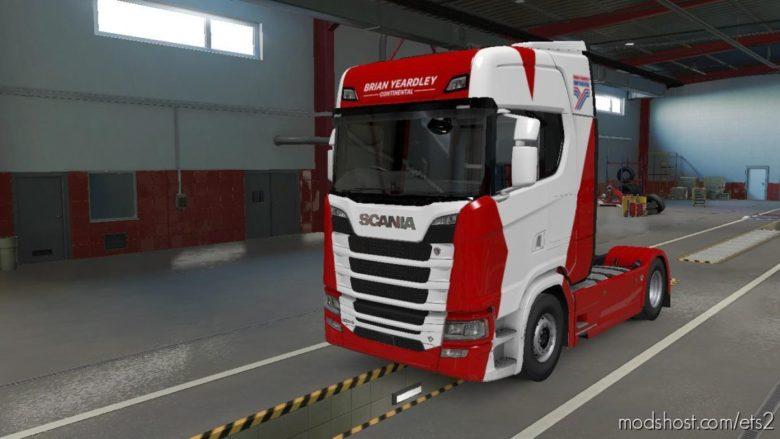 Brian Yeardley Truck & Trailer Skins for Euro Truck Simulator 2