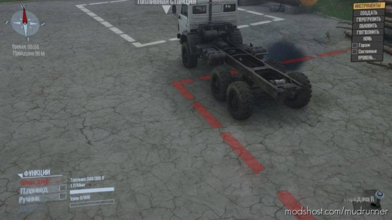 Locator Line Mod for MudRunner