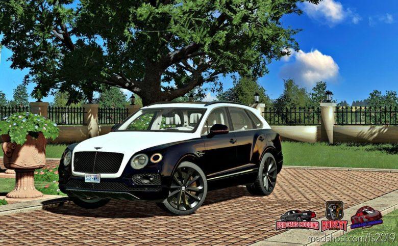 Bentley Bentayga 2016 for Farming Simulator 19