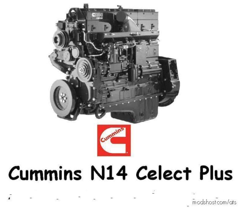 Cummins N14 Celect Plus Engine Pack for American Truck Simulator