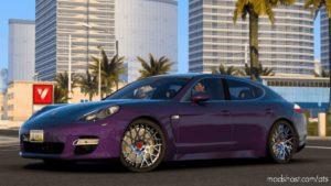 Porsche Panamera Turbo 2010 V6.0 [1.40] for American Truck Simulator