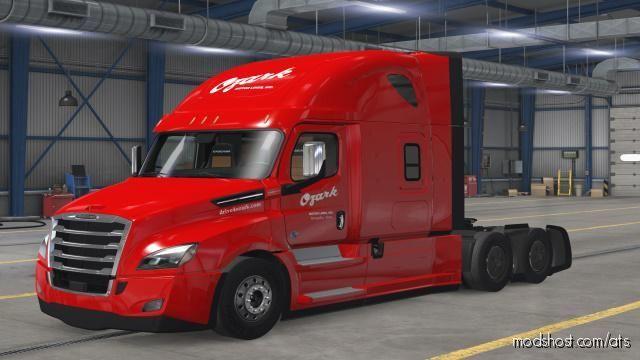 Ozark Motor Freight Skins for American Truck Simulator