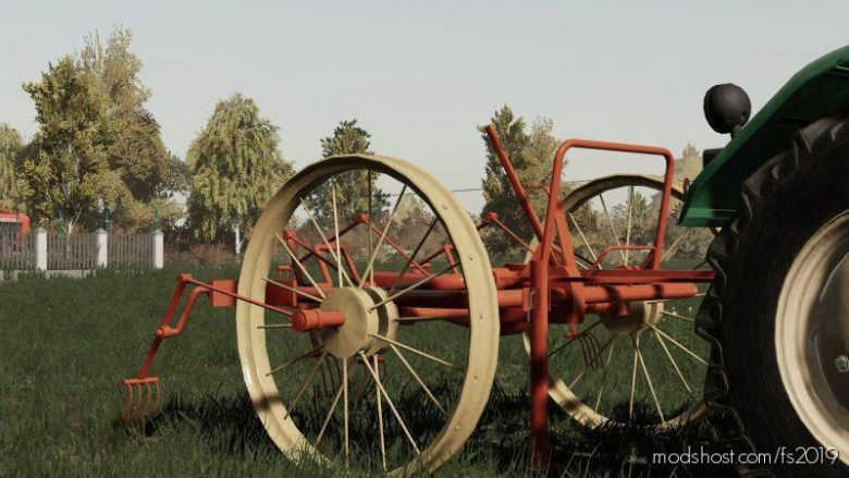 Horse Tractor Tedder for Farming Simulator 19