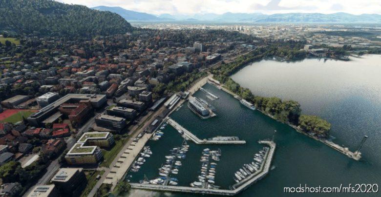 Bregenz, Austria for Microsoft Flight Simulator 2020
