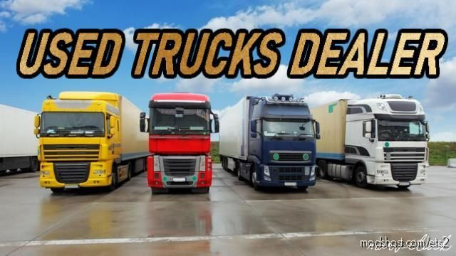Used Trucks Dealer V1.5.3 for Euro Truck Simulator 2