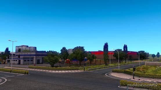OLD Calais [1.39 – 1.40] for Euro Truck Simulator 2